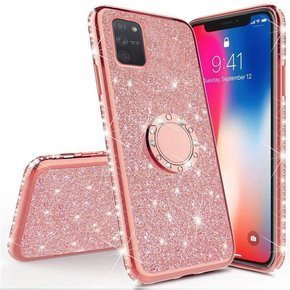 Чехол Bling  до  Samsung Galaxy S10 Lite, Rose Gold