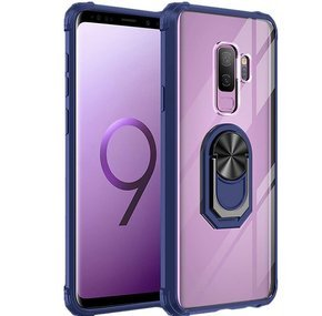 Чехол Hybrid Ring до Samsung Galaxy S9 Plus, Blue