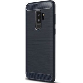 Чохол ERBORD Karbon до SAMSUNG Galaxy S9 Plus, Dark Blue