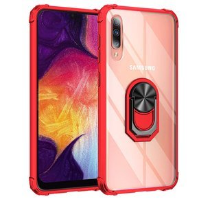 Чохол Hybrid Ring до Samsung Galaxy A50, Red
